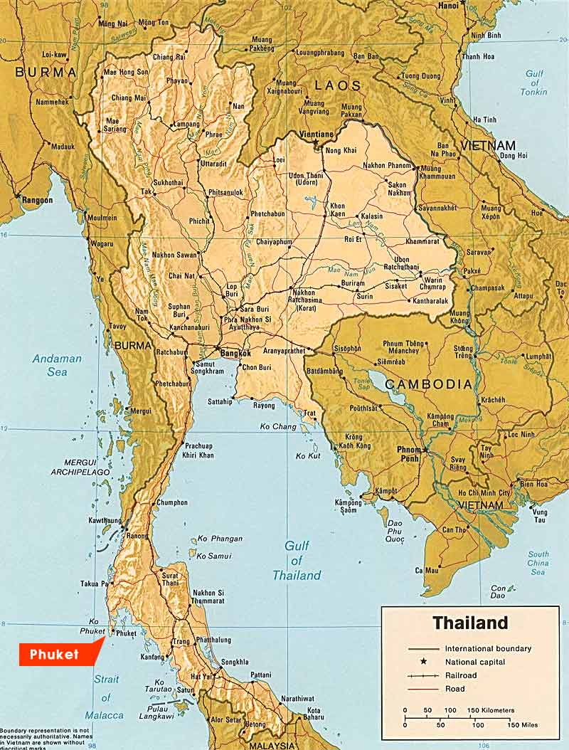 Carte Thailande Telecharger.Carte De Thailande Plan Touristique Thailande